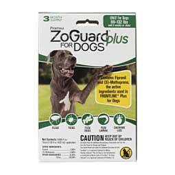 ZoGuard Plus for Dogs 3 pk (89-132 lbs) - Item # 42134