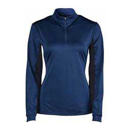 Air Flow Long Sleeve Womens Top Navy - Item # 42272