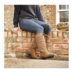 Womens River Plaid II Boots Brown - Item # 42287