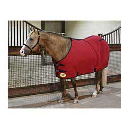 Fleece Horse Sheet Red/Black - Item # 42328