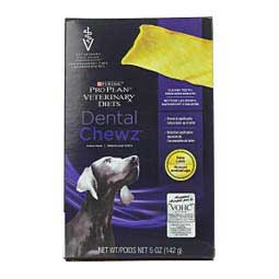 Pro Plan Dental Chewz Dog Treats Purina Veterinary Diets