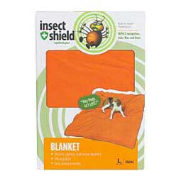 Insect Shield Dog Blanket Orange L (74'' x 56'') - Item # 42566