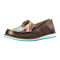 Cruiser Womens Slip-on Shoes Metallic/Aztec - Item # 42863
