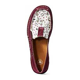 Cruiser Womens Slip-on Shoes Burgundy/Cowgirl - Item # 42863
