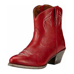 "Womens Darlin 7"" Booties Rosey Red - Item # 42875"