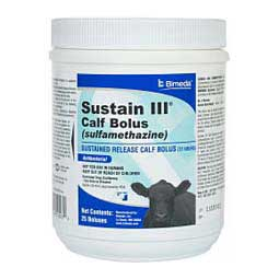 Sustain III Calf Bolus 25 ct - Item # 42931