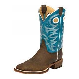 "Bent Rail 11"" Cowboy Boots Candy Blue - Item # 43095"