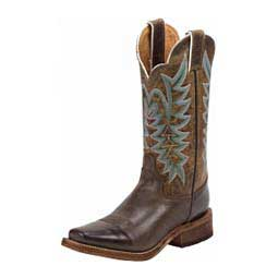 Bent Rail Boot J124 Toe Cowgirl Boots Chocolate - Item # 43101