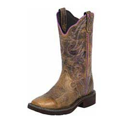 "Gypsy 12"" Cowgirl Boots Brown - Item # 43103"