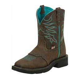 "Gypsy 8"" Shorty Cowgirl Boots Chocolate - Item # 43104"