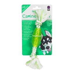 "Canine Clean 6"" Rope Dental Dog Toy w/Tube Spearmint - Item # 43329"