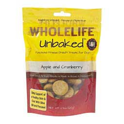 Unbaked Freeze Dried Treats for Dogs Apple/Cranberry 2.3 oz - Item # 43340