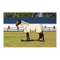 Power Mesh Detachable Neck Horse Fly Sheet Oatmeal - Item # 43351