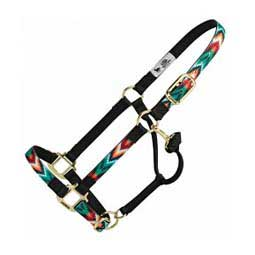 "Adjustable Fashion 1"" Horse Halter Weaver Leather"