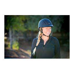 Spirit 2017 Traditional AP Horse Riding Helmet - Solids Black Duratec - Item # 43656