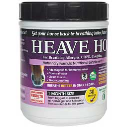 Heave Ho for Allergies, COPD & Coughing in Horses Sugar-Free Apple 1.26 lbs. (30 days) - Item # 43872