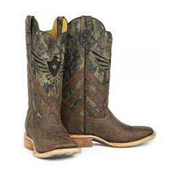 """Sergeant At Arms 13"""" Cowboy Boots Brown - Item # 43969"""