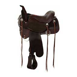 T91 Smooth Meadow Creek Trail Horse Saddle Brown/Brown - Item # 44143