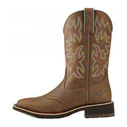 "Delilah Fatbaby Square Toe 10"" Cowgirl Boots Toasted Brown - Item # 44222"