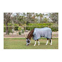 Comfort Fit Horse Fly Sheet Charcoal/Pacific Blue - Item # 44274