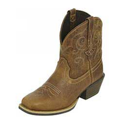 "Chellie Gypsy Shorty 7"" Cowgirl Boots Justin"