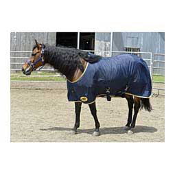 SureFit Nylon Horse Sheet Navy/Tan - Item # 44586
