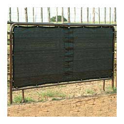 Stall Panel Screen for Horses and Livestock Black - Item # 44688