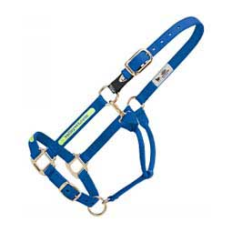 Personalized Xtended Life Closure System Breakaway Horse Halter Blue - Item # 44891