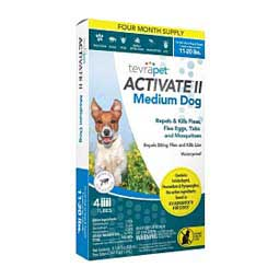 Activate II for Dogs 11-20 lbs 4 ct - Item # 44992