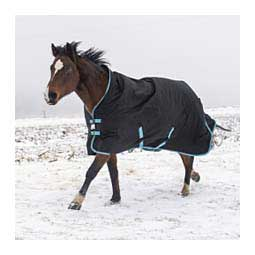 TuffRider Bonum Ripstop High Neck Turnout Horse Blanket Black - Item # 45020