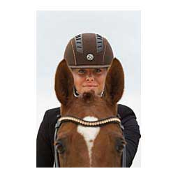 Trauma Void EQ3 Microfiber Horse Riding Helmet Brown - Item # 45052