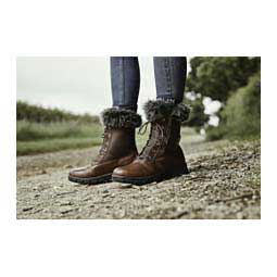 Bourne Womens Boots Red Brown - Item # 45079
