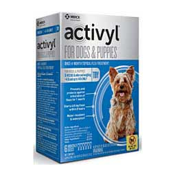 Activyl Spot-On for Dogs and Puppies 6 ct (4-14 lbs) - Item # 45087
