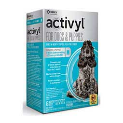 Activyl Spot-On for Dogs and Puppies 6 ct (22-44 lbs) - Item # 45089