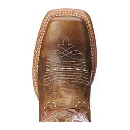 "Vaquera Western 13"" Cowgirl Boots Dusted Wheat - Item # 45175"