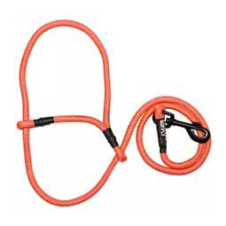 Snap Lead Halter for Goats and Sheep Electric Orange - Item # 45242