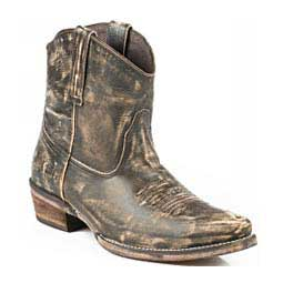 "Dusty 7"" Cowgirl Boots Brown Distressed - Item # 45645"