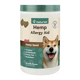 Hemp Allergy Aid for Dogs 60 ct - Item # 45744