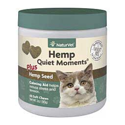 Hemp Quiet Moments Soft Chews for Cats 60 ct - Item # 45745