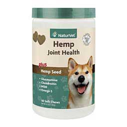 Hemp Joint Health Soft Chews for Dogs 60 ct - Item # 45752