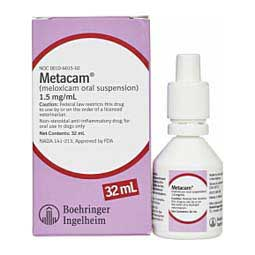 32 ml Metacam Oral Suspension 1.5mg/ml for Dogs