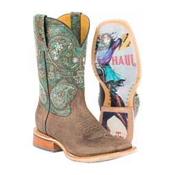 "Ban-Dan-Uh 11"" Cowgirl Boots Brown - Item # 46009"