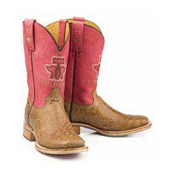 "Free Spirit 11"" Cowgirl Boots Brown - Item # 46021"