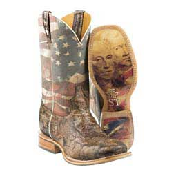 "Land Of The Free 11"" Cowboy Boots Brown - Item # 46039"
