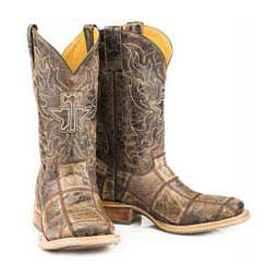 "Money Maker 11"" Cowboy Boots Brown - Item # 46045"