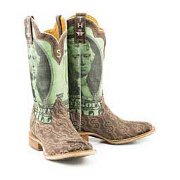 "Deuce 13"" Cowboy Boots Brown - Item # 46050"