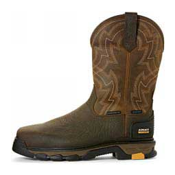 "Intrepid Force H2O 11"" Cowboy Boots Distressed Brown - Item # 46082"