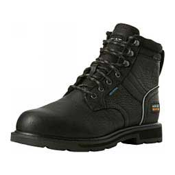 "Groundbreaker II H2O Steel Toe 6"" Work Boots Black - Item # 46085"