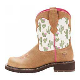 """Fatbaby Heritage Twill 8"""" Cowgirl Boots Cactus - Item # 46097"""