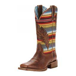 """Circuit Feather Western 12"""" Cowgirl Boots Serape - Item # 46109"""